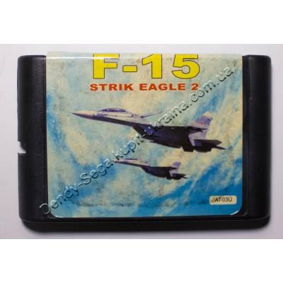 Картридж Sega Mega Drive 16 bit F15 Strik Eagle 2