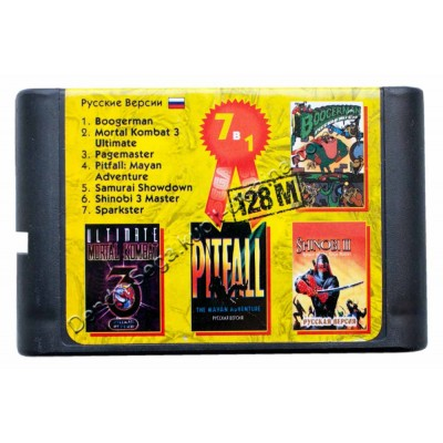 Картридж Sega 16 bit MK-3-U/ BoogerMan/ Shinobi 3 Master