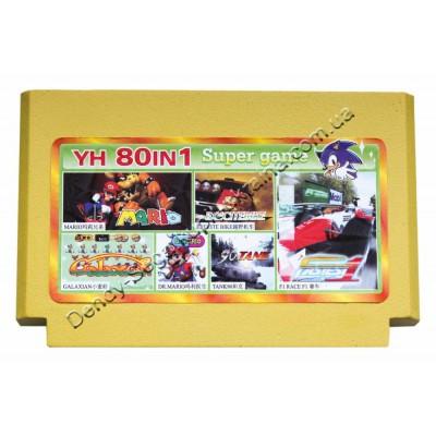 Картридж Dendy 8 bit Tank 90/Super Mario/Dr Mario