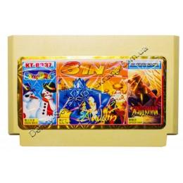 Картридж денди Aladdin/ Snow Bros/ Spiderman