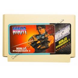Картридж денди Ninja Gaiden Ryuukenden 3