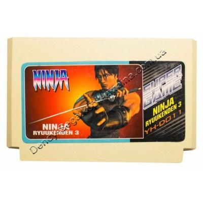 Картридж Dendy 8 bit Ninja Gaiden Ryuukenden 3