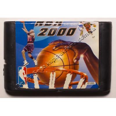 Картридж Sega Mega Drive 16 bit NBA 2000 баскебол