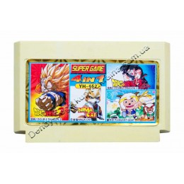 Картридж денди Dragon Ball 2+3/ Ninja Cat/ Pleasant Goat
