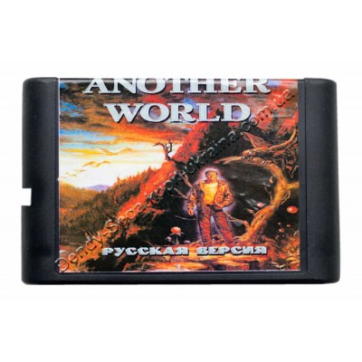 Картридж Sega 16 bit Another World (Другой Мир)