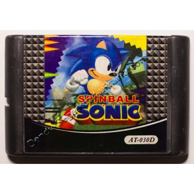 Картридж Sega Mega Drive 16 bit Sonik Spinbal (Соник Спинбел)