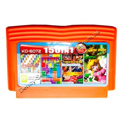 Картридж Dendy 8 bit Adventure Island/Tetris/Jewelry/Chinese Chess