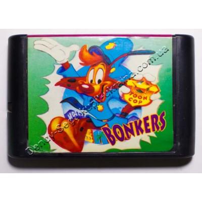 Картридж Sega Mega Drive 16 bit Bonkers