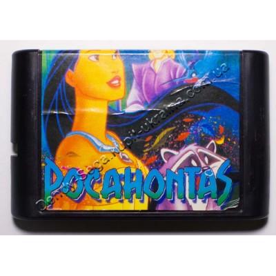 Картридж Sega Mega Drive 16 bit Pocahontas
