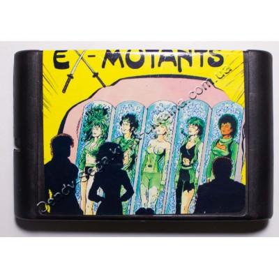 Картридж Sega Mega Drive 16 bit X-Mutants