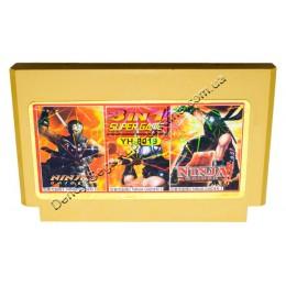 Картридж денди Ninja Gaiden 1-2-3