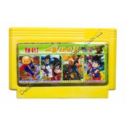 Картридж денди 3 Eye Boy/ Dragon Ball 1+2/ Silk Worm