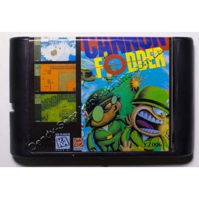 Картридж Sega Mega Drive 16 bit Сannon Fodder