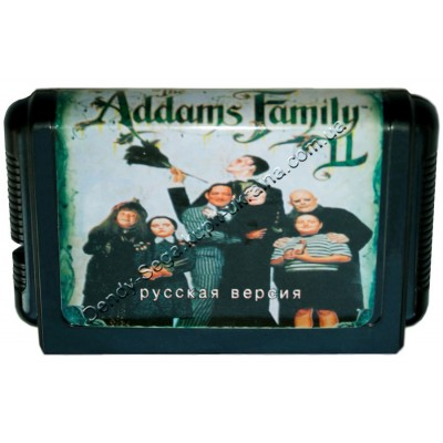 Картридж Sega 16 bit Addams Family Values (Семейка Адамс)