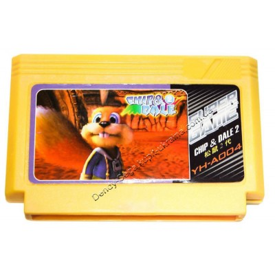 Картридж Dendy 8 bit Chip Dale 2