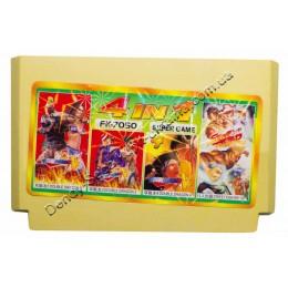 Картридж денди Double Dragon 2+3+4/ Street Fighter 12