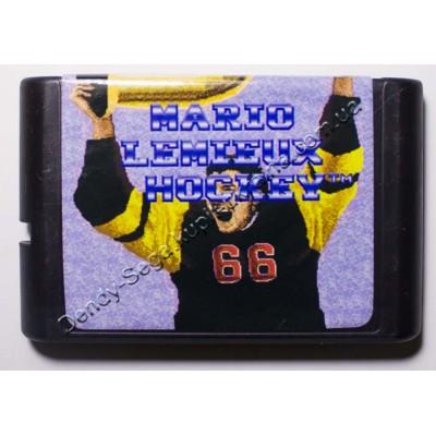 Картридж Sega Mega Drive 16 bit Hockey Mario Lemieux