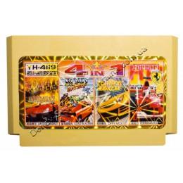 Картридж денди American Race/ Road Blasters/ Zippy Race/ Ferrari Race