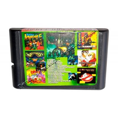 Картридж Sega 16 bit 16 в 1 Alien 3/ Alien Storm