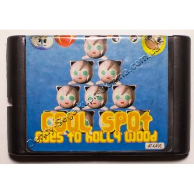 Картридж Sega Mega Drive 16 bit Cool Spot