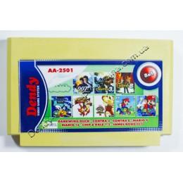 8 в 1 Darkwing Duck/ Chip Dale 1+2/ Contra 3+8/ Mario 9+16/ 007