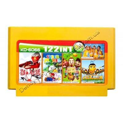 Картридж Dendy 8 bit Super Mario/Lode Runer/Galaxian/Kage of Legend/Olympic