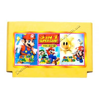 Картридж Dendy 8 bit Super Mario-6-9-16