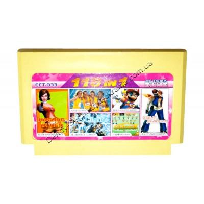 Картридж Dendy 8 bit 118 Olympic/ Super Mario/ Galaxian