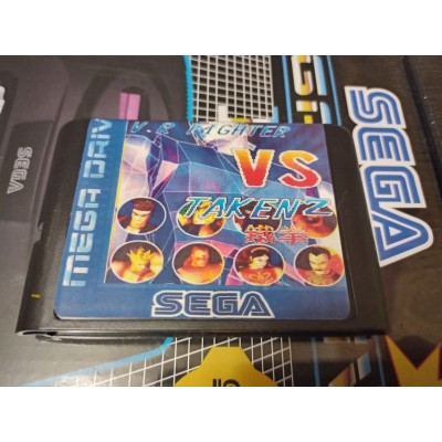 Virtua Fighter 2 vs. Tekken 2  Sega