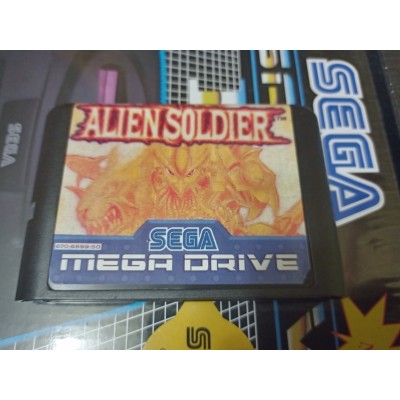 Alien Soldier Sega