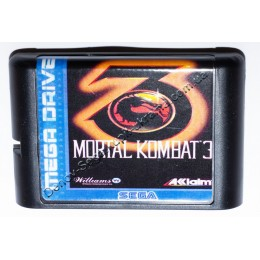 Картридж Сега Mortal Kombat 3 (Мортал Комбат-3)
