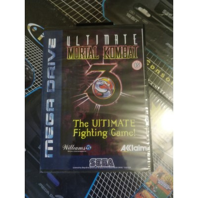 Mortal Kombat 3 Ultimate Sega (в коробке)