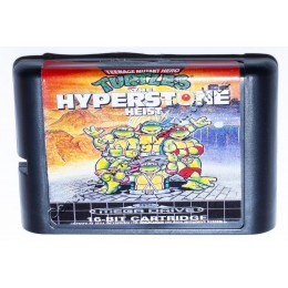 Картридж Сега Turtles the Hyperstone Heist (Черепашки ниндзя)