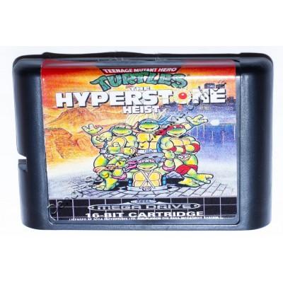 Картридж Sega 16 bit Turtles the Hyperstone Heist (Черепашки ниндзя)