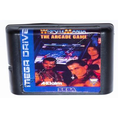 Картридж Sega 16 bit Wrestle Mania (Врестле Мания)