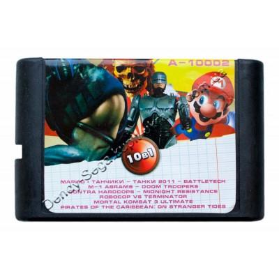 Картридж Sega 16 bit Battletank Abrams/BattleTech/Doom Tropers