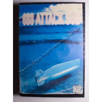 Картридж Sega Mega Drive 16 bit 688 Attack Sub