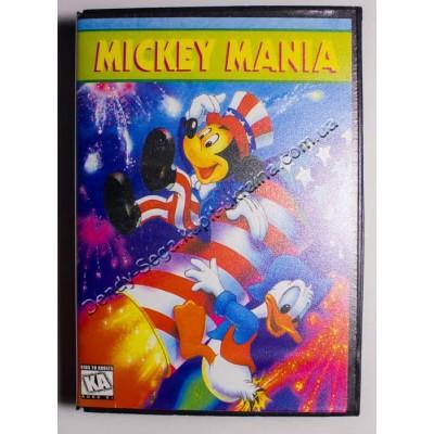 Картридж Sega Mega Drive 16 bit Mickey Mania