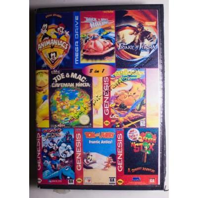 Картридж Sega  (в коробке) Rockn Roll Racing/ Prince of Persia