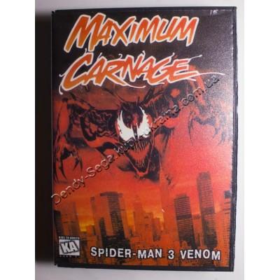 Картридж Sega Mega Drive 16 bit Spiderman Maximum Carnage