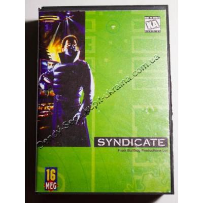 Картридж Sega Mega Drive 16 bit Syndicate