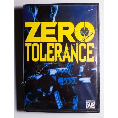 Картридж Sega 16 bit Zero Tolerance (Зеро Толеранс)