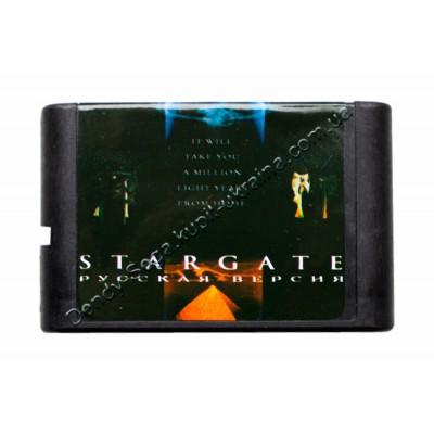 Картридж Sega Mega Drive 16 bit  Star Gate (Звездные Врата)