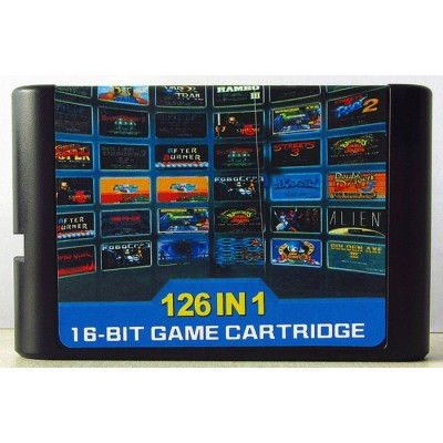 Картридж Sega Mega Drive 2 - 126 в 1