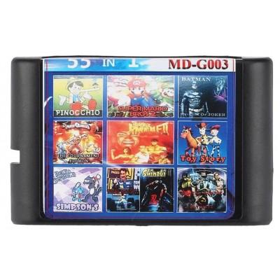 Картридж Sega Mega Drive 2 - 55 в 1