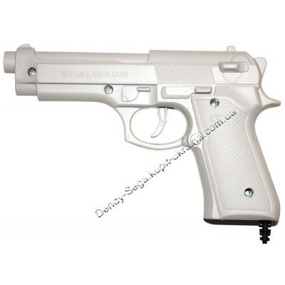 Пистолет для Dendy 3 15 пин, белый
