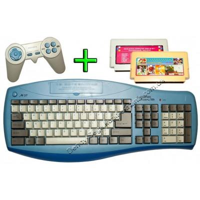 Купить обучающую приставку-клавиатуру Dendy 8 bit недорого по низкой цене