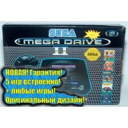 Сега Мега Драйв 2 (+5 встроенных игр)