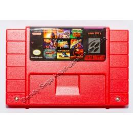 Картридж Супер Нинтендо (NTSC, 100 SNES игр)