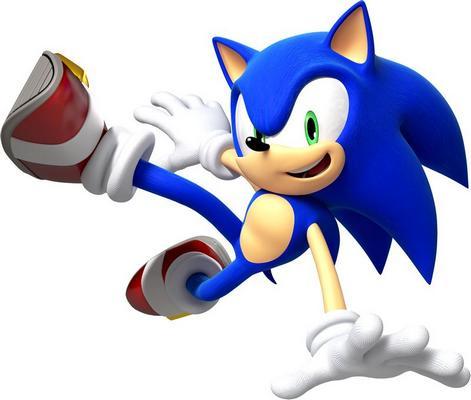 16 битные приставки - sonic the hedgehog